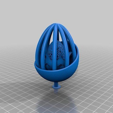 a968f2c4a1ba8a805943bfe48d9959ac_display_large.jpg Télécharger fichier STL gratuit Collection d'œufs de Pâques en résine • Plan pour imprimante 3D, ChrisBobo