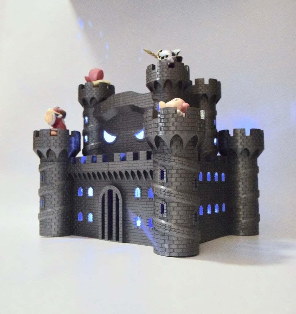 fullsizeoutput_34d.jpeg Download free STL file Castle Dedede - Amiibo Prop • 3D printable object, ChrisBobo