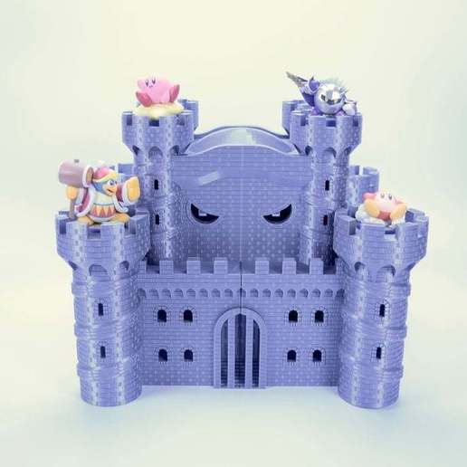fullsizeoutput_33e.jpeg Download free STL file Castle Dedede - Amiibo Prop • 3D printable object, ChrisBobo