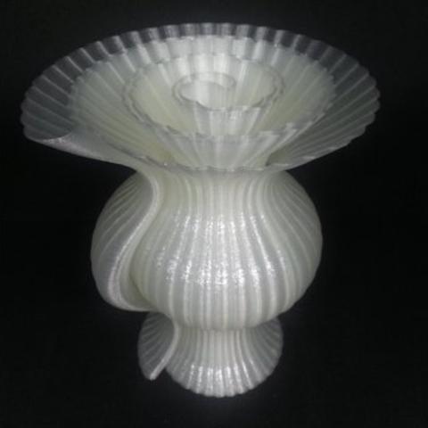 Download free STL files Monocoil Vase, ChrisBobo