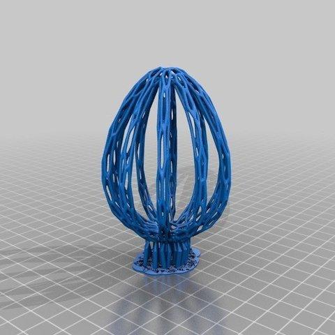 efe146e368608e50f977378ef4d1701c_display_large.jpg Télécharger fichier STL gratuit Collection d'œufs de Pâques en résine • Plan pour imprimante 3D, ChrisBobo