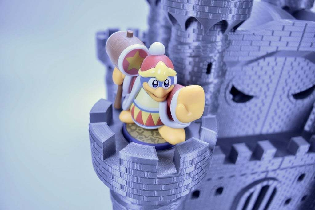 fullsizeoutput_346.jpeg Download free STL file Castle Dedede - Amiibo Prop • 3D printable object, ChrisBobo