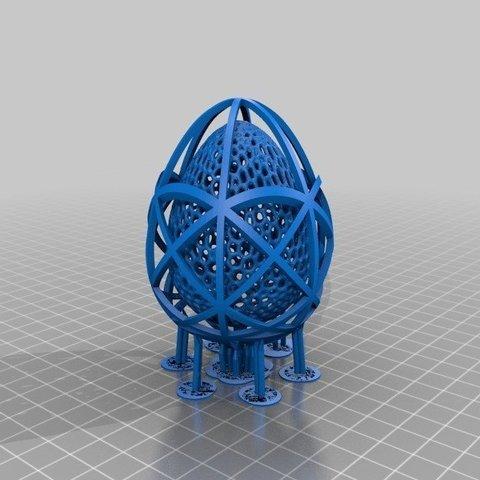 1d0b58d7967f2e3d6a95700f9299a890_display_large.jpg Télécharger fichier STL gratuit Collection d'œufs de Pâques en résine • Plan pour imprimante 3D, ChrisBobo