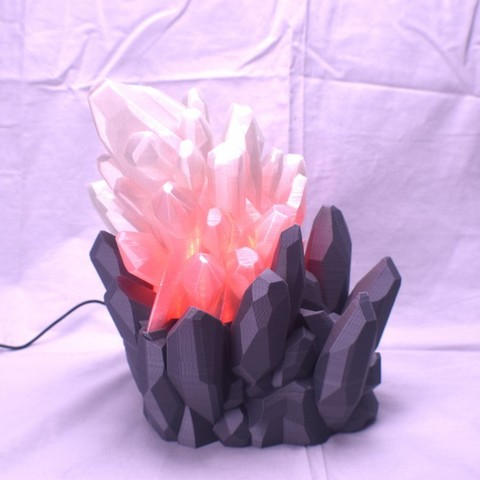 Download free 3D printer designs Crystal LED Lamp, ChrisBobo