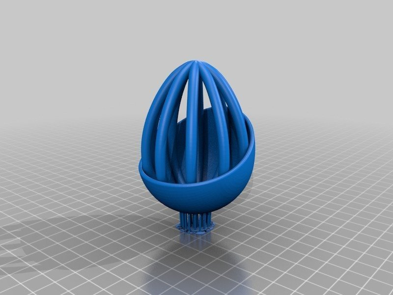 bffa66d20b7976f6f182d70f8198cc2d_display_large.jpg Télécharger fichier STL gratuit Collection d'œufs de Pâques en résine • Plan pour imprimante 3D, ChrisBobo