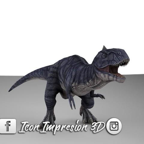 Download 3D printer templates Dinosaur, Gerardolp