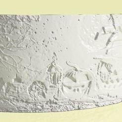 Download free 3D printer designs litofania Hallowen , Gerardolp