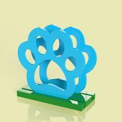 Download 3D printer files Servilletero con huellita paw patrol , Gerardolp