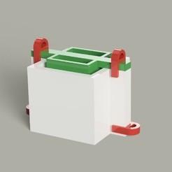 Télécharger STL Moule matriciel pour la fabrication de pots de ciment ou de gypse, Gerardolp