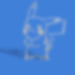 pikachu 2.stl Download STL file picachu cookie cutter • Template to 3D print, Geralp