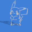 PICACHU2 v1.png Download STL file picachu cookie cutter • Template to 3D print, Geralp