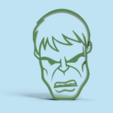 Download free STL Hulk cookie cutter, Gerardolp