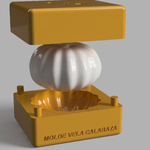 1.JPG Télécharger fichier STL MOULE À BOUGIE OU À SAVON EN FORME DE CITROUILLE • Objet à imprimer en 3D, Geralp