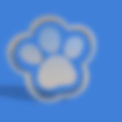 huella paw patrol.stl Download STL file paw patrol cookie cutter print • 3D printable design, Geralp