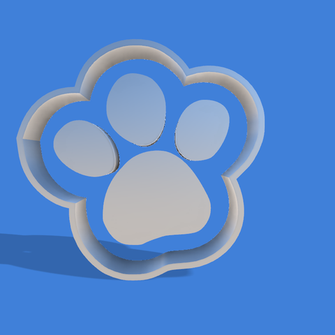 huella patrol v1.png Download STL file paw patrol cookie cutter print • 3D printable design, Geralp
