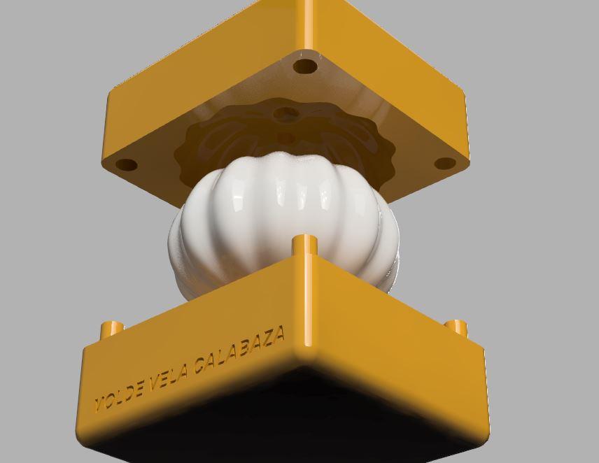 2.JPG Télécharger fichier STL MOULE À BOUGIE OU À SAVON EN FORME DE CITROUILLE • Objet à imprimer en 3D, Geralp