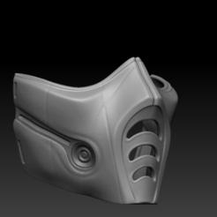 Download 3D printer designs ZUB ZERO COVID MASK WITH MESH, Geralp
