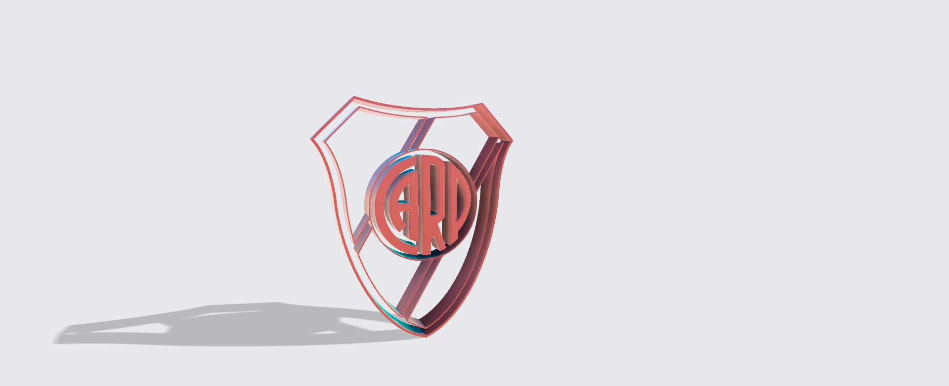 escudo river v1.png Download STL file River Platecookie Cutter Athletic Club • Object to 3D print, Geralp
