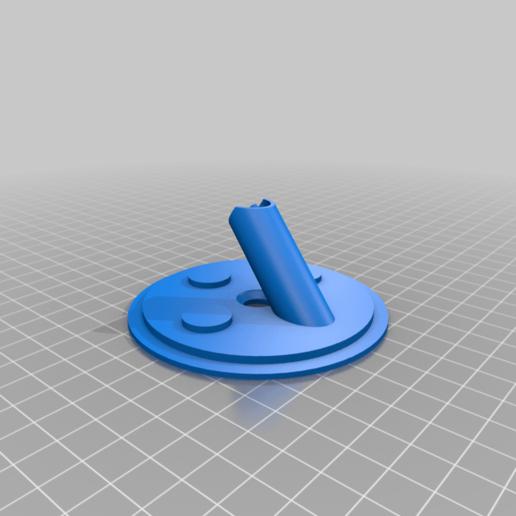 Dyna_Trash_v2_Base.png Download free STL file Dyna-Trash v2 Wide mouth mason Jar abv storage • Template to 3D print, PM_ME_YOUR_VALUE