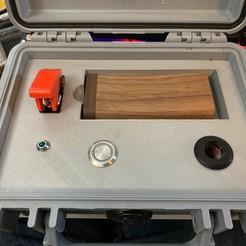 Download free STL file Induction heater Pelican 1120 case • 3D print template, PM_ME_YOUR_VALUE