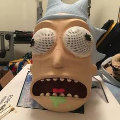 Télécharger plan imprimante 3D gatuit Rick Sanchez Mask MS Mini version, PM_ME_YOUR_VALUE
