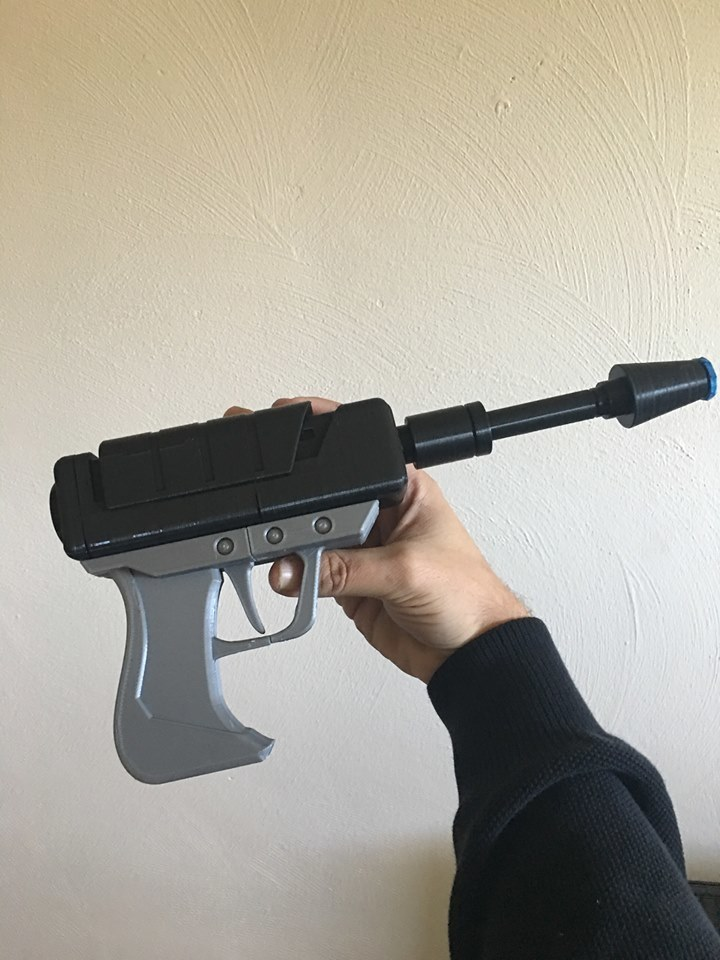 22528022_10100513119382276_1119080374222588038_n.jpg Download free STL file 9 gague plasma pistol with barrel tip cover (MPMS mini) • 3D print template, PM_ME_YOUR_VALUE
