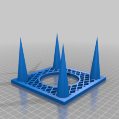 Download free STL file Picnic festival glass holder • 3D printing template, PM_ME_YOUR_VALUE