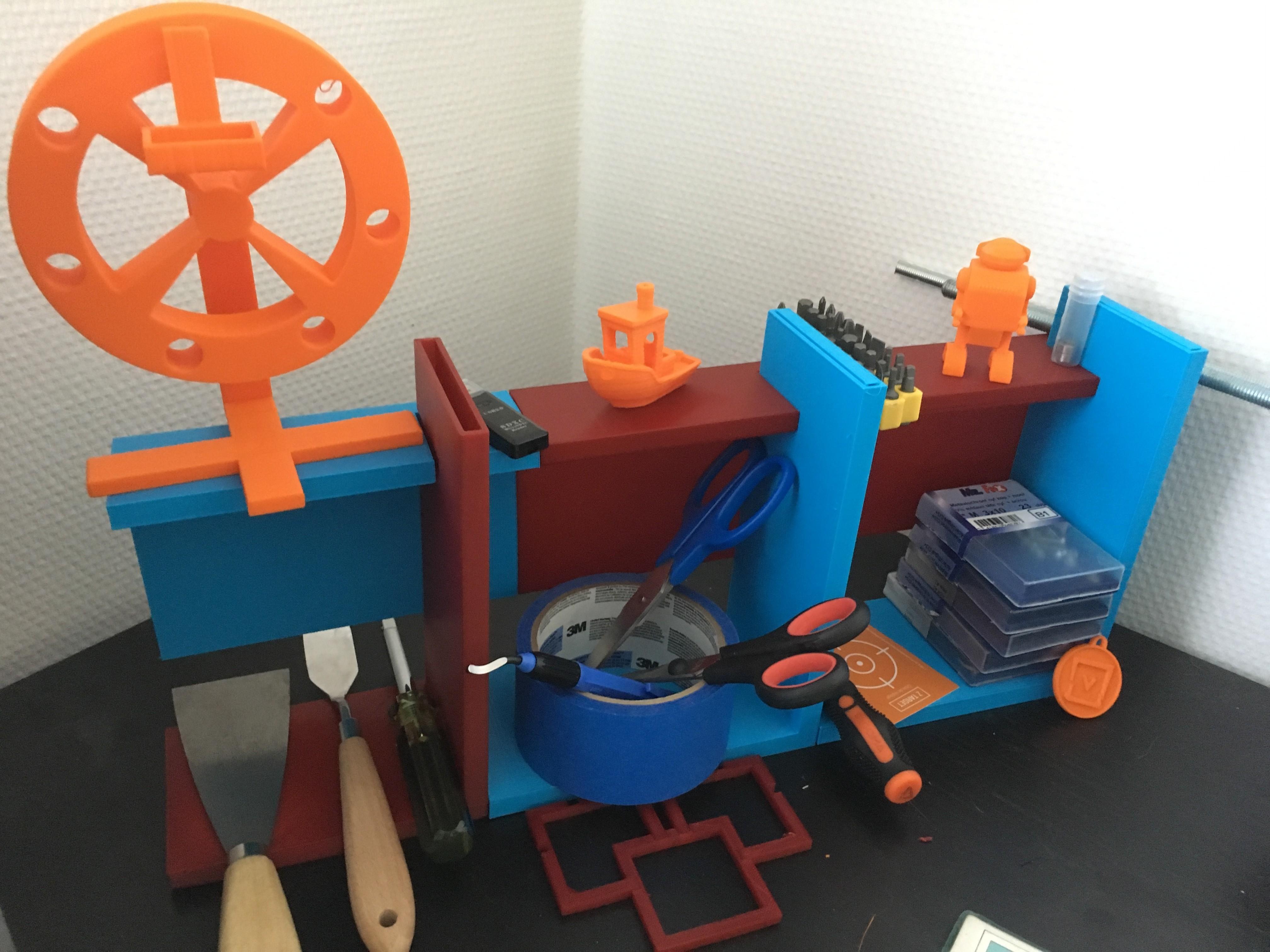 IMG_0885.JPG Download STL file Neo-shelf • 3D print design, Log5