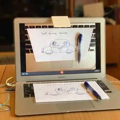 Pocket_Doc_Cam_Pic2small.jpg Télécharger fichier STL gratuit Appareil photo pour documents de poche • Plan pour impression 3D, jumekubo