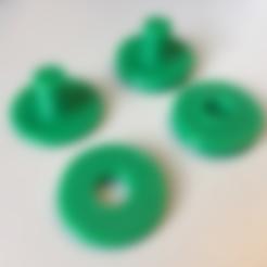 Free 3D file Fidget Spinner Centerpiece, V2, jumekubo
