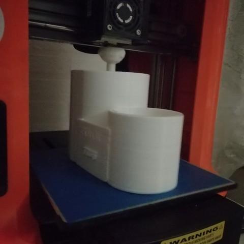 3D print model cotton rod box, francis60220