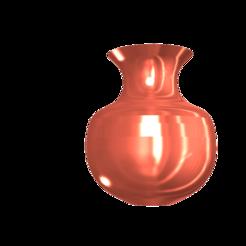 STL files Egyptian vase, francis60220