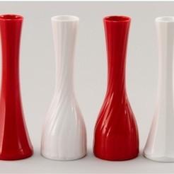 Impresiones 3D florero para rosas, francis60220
