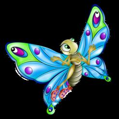 Descargar modelos 3D gratis mariposa, francis60220