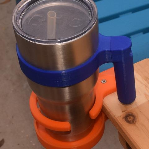 Capture d'écran 2017-09-20 à 11.23.31.png Download free STL file Adirondak Chair Cup Holder • Template to 3D print, hanselcj
