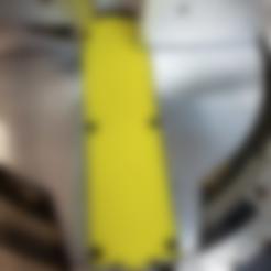 Free STL file Zero Clearance Insert, Miter Saw Plate, DW715, hanselcj