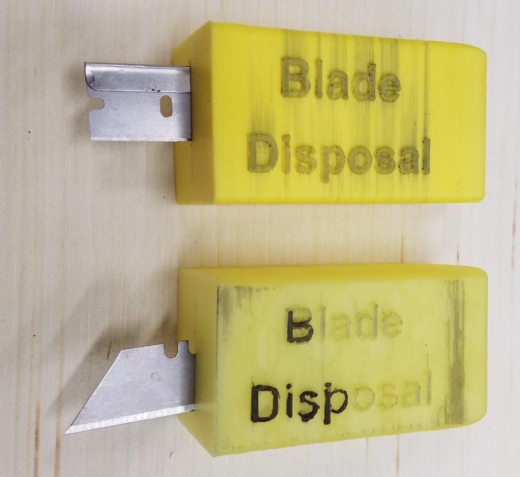9c9df4b7d62b6c360c897395c9581f72_display_large.jpg Download free STL file Blade Disposal Box • Model to 3D print, hanselcj