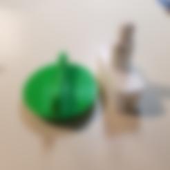 Free 3d printer files OXO Veggie Spiralizer Kitchenaid Add On, hanselcj