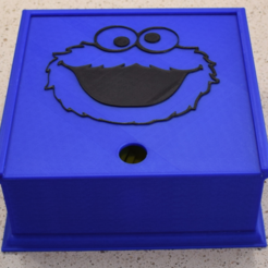 Archivos 3D gratis Cookie Monster Box, hanselcj