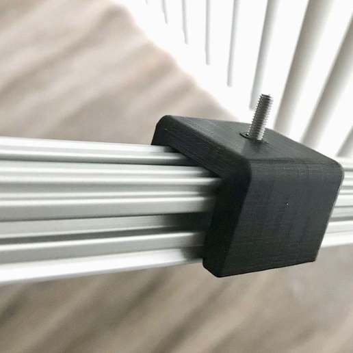 Download free STL file 1515 extrusion adjustable grip mount single M3 screw • 3D printing design, norbs12