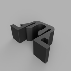 LianLiRender.PNG Download free STL file NCASE M1 and Lian Li PC-Q33 panel clips (may fit other lian li cases) • Object to 3D print, norbs12