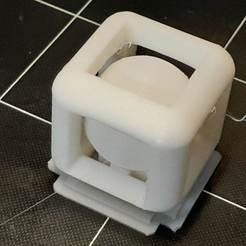 20200502_205323.jpg Télécharger fichier STL gratuit Boule creuse dans un cube • Design imprimable en 3D, JohnnyDjm