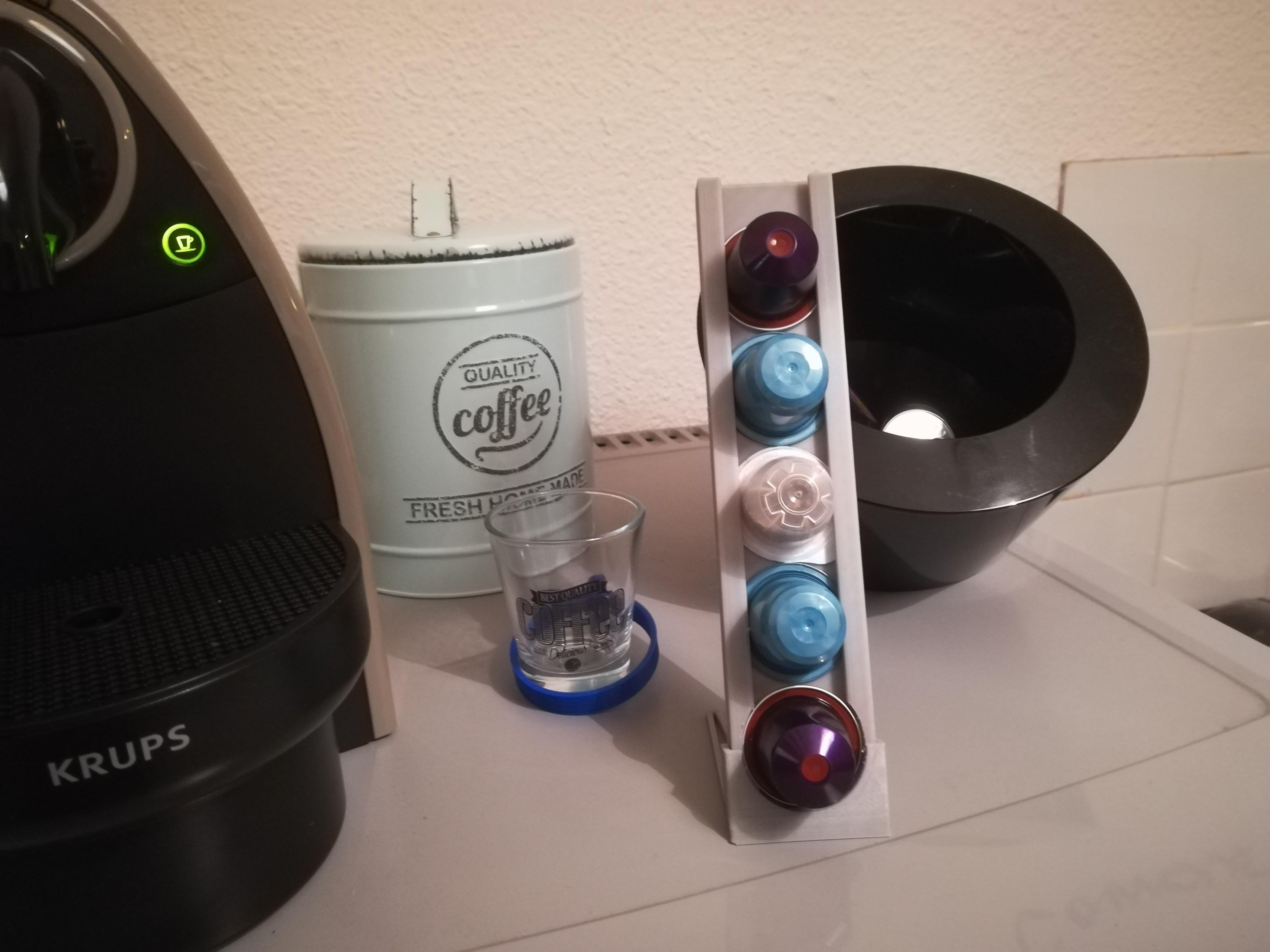 IMG_20180331_210157.jpg Download free STL file Coffee capsule dispenser • 3D print template, DorianAgnel