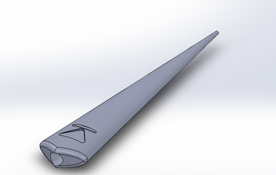 Lance-princesse-mononoke.PNG Download free STL file Princess Mononoke Spear • 3D printable design, Xertos-3d