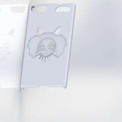 Download free 3D printing templates Huawei P8 Lite Mononoke Hull, Xertos-3d