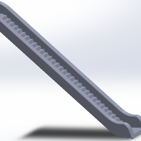 Free Escalator 3D printer file, Xertos-3d