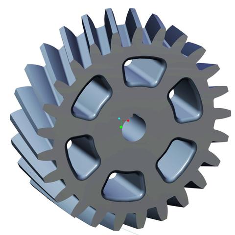 Impresiones 3D gratis Engranaje helicoidal, O3D