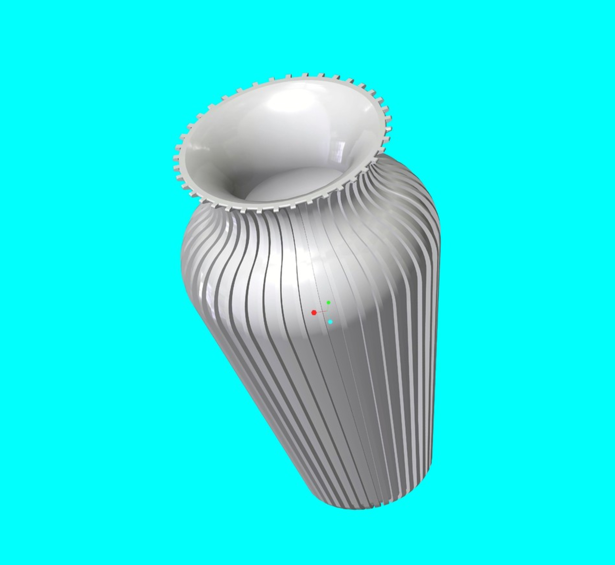 Capture d'écran 2017-09-21 à 15.03.21.png Download free STL file Slim Vase • 3D printer object, O3D
