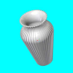 Download free 3D printing templates Slim Vase, O3D