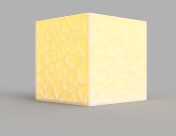 Capture d'écran 2017-09-21 à 15.35.32.png Download free STL file Voronoi Tea Light Shade • 3D print object, O3D